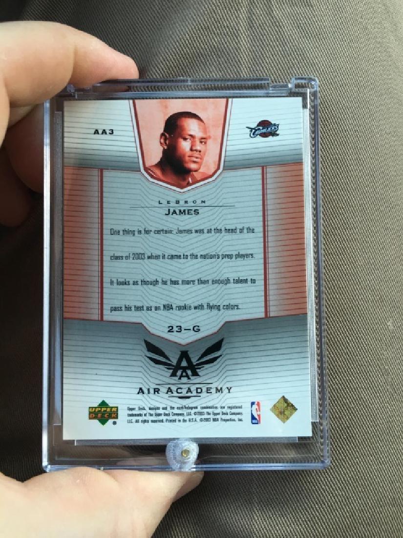 2003 Upper Deck LeBron James ROOKIE Air Academy #C - 2