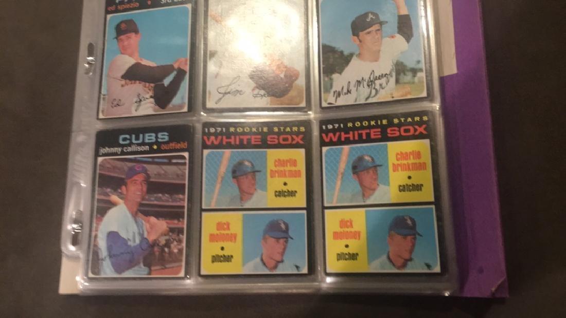 1971 tpops nine card lot doc Ellis Mike McQueen - 2