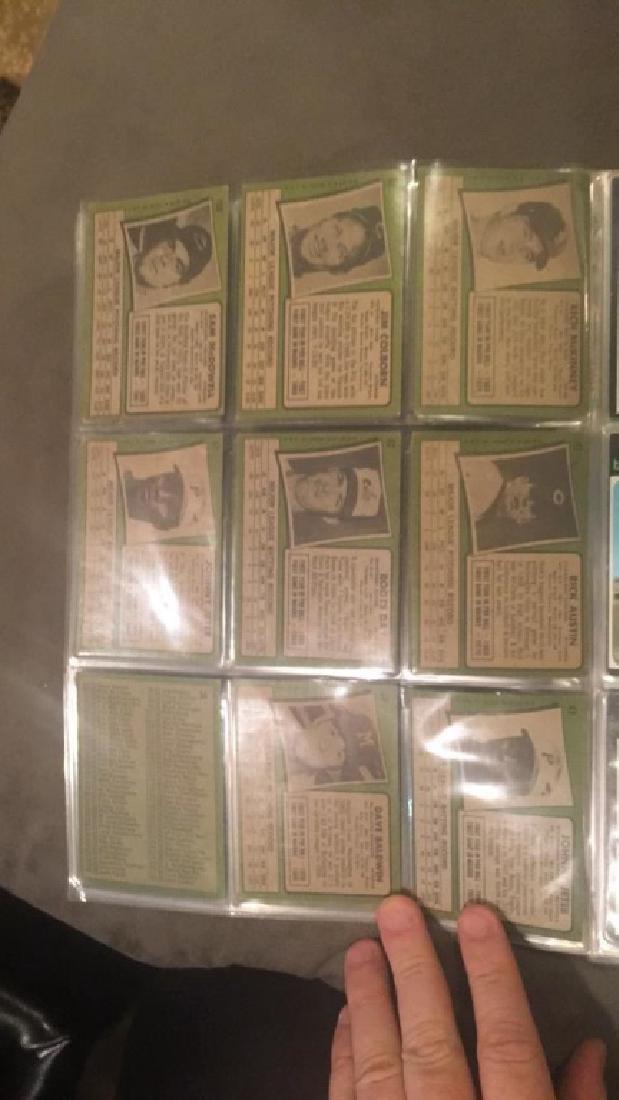 1971 tops vintage baseball nine card lot Johnny - 3
