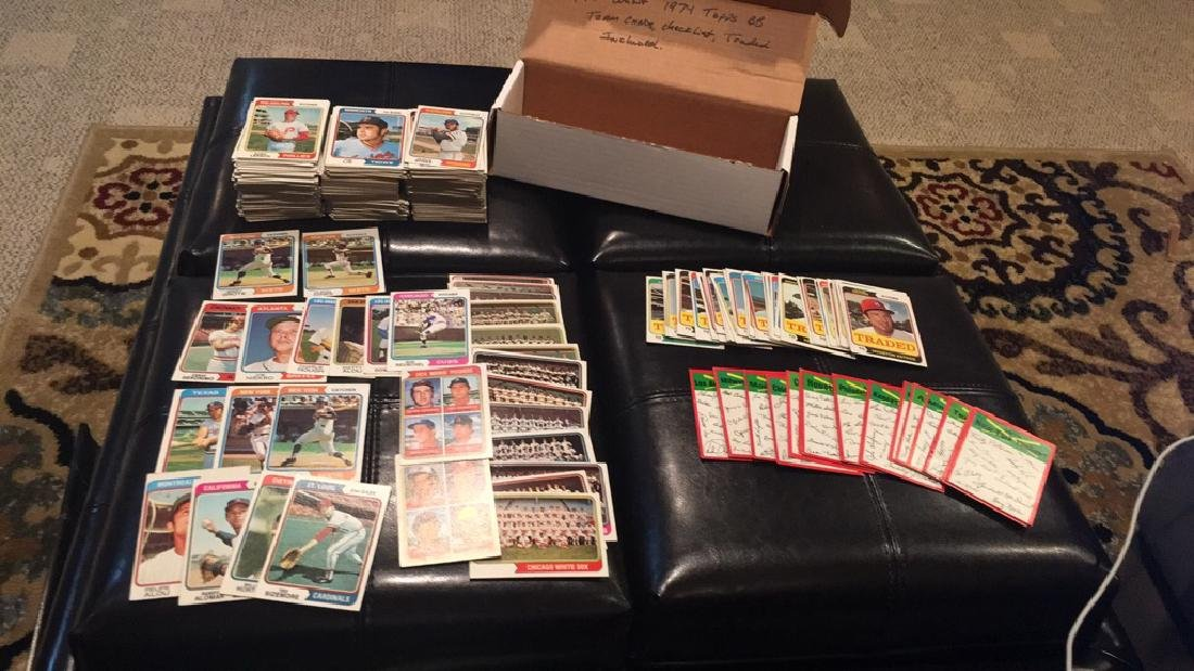 1974 Topps 470+- vintage baseball card lot with