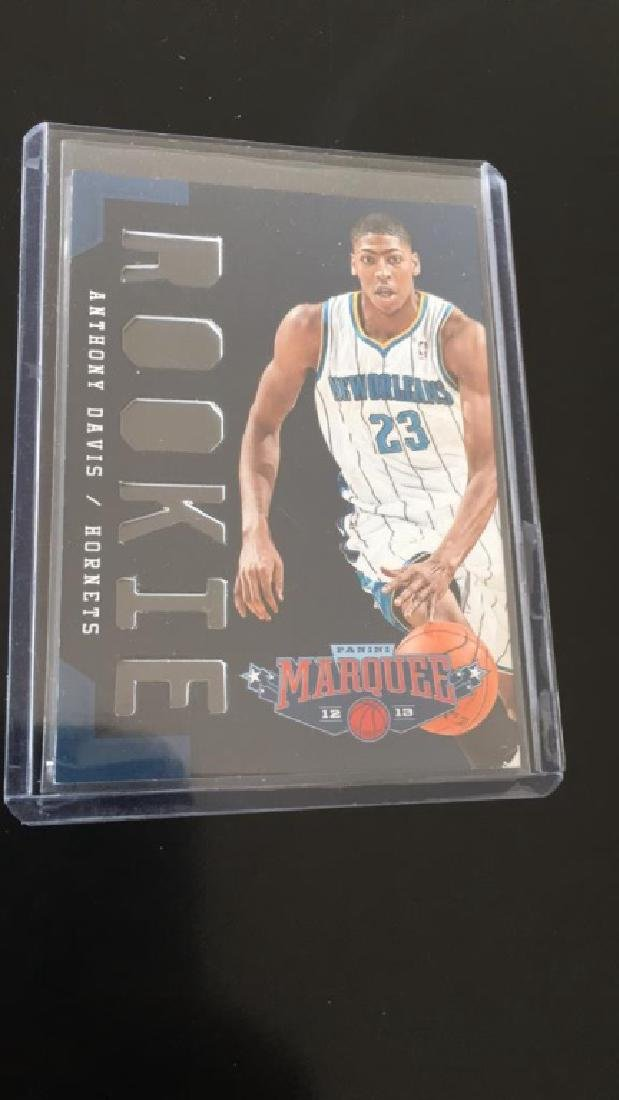 Anthony Davis 2012 13 Panini marquee rookie card