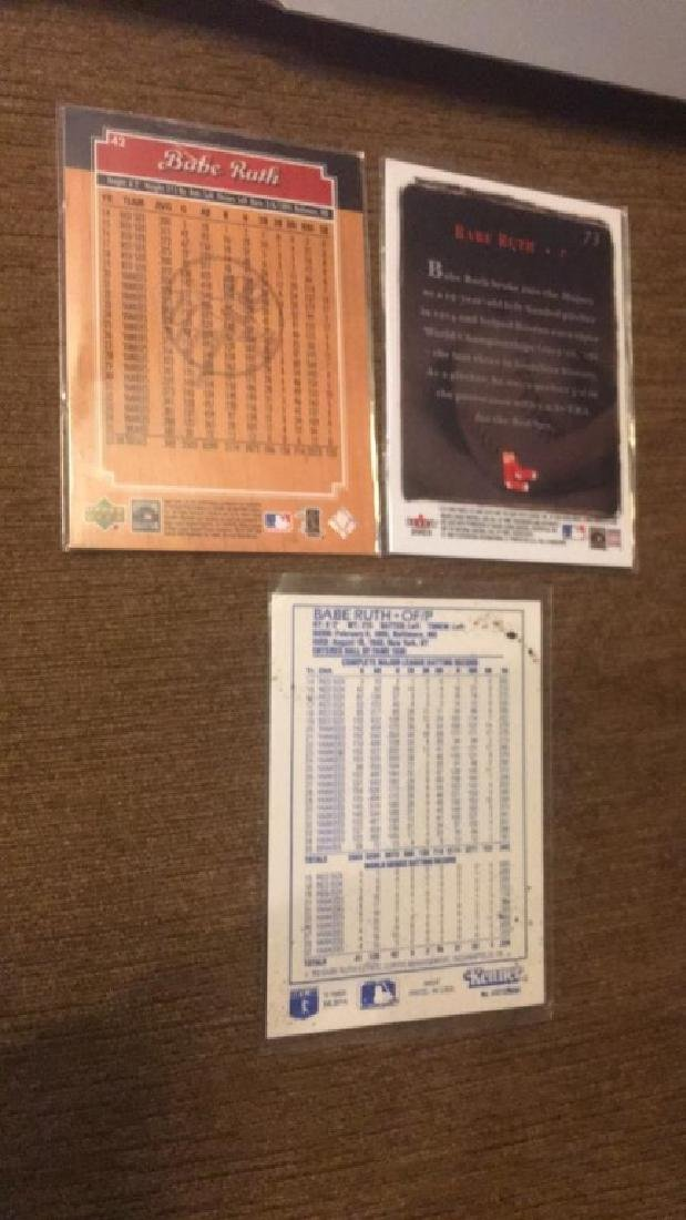 Babe Ruth 1989 Kenner starting lineup card 2003 - 2