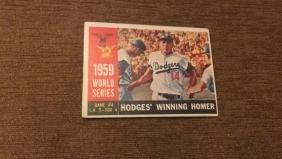 Gil Hodges winning homer 1959 World