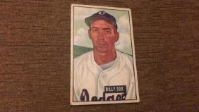 Billy Cox 1951 Bowman vintage baseball card