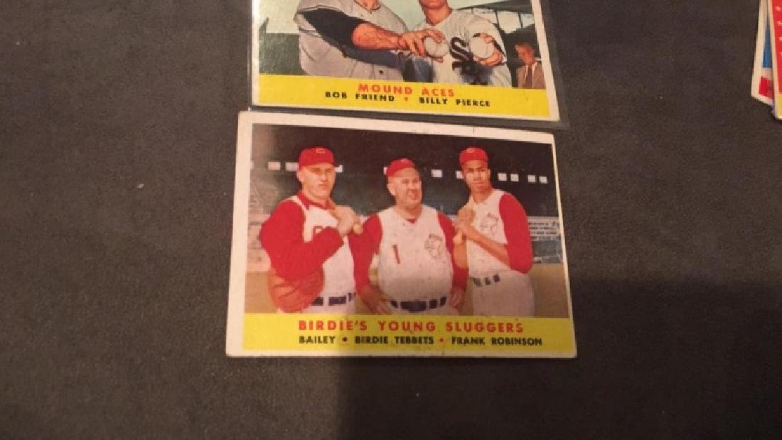 1958 vintage card lot mound aces and birdies - 2