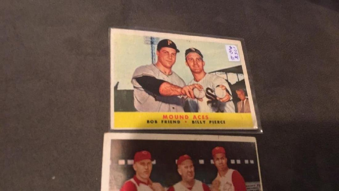 1958 vintage card lot mound aces and birdies - 3