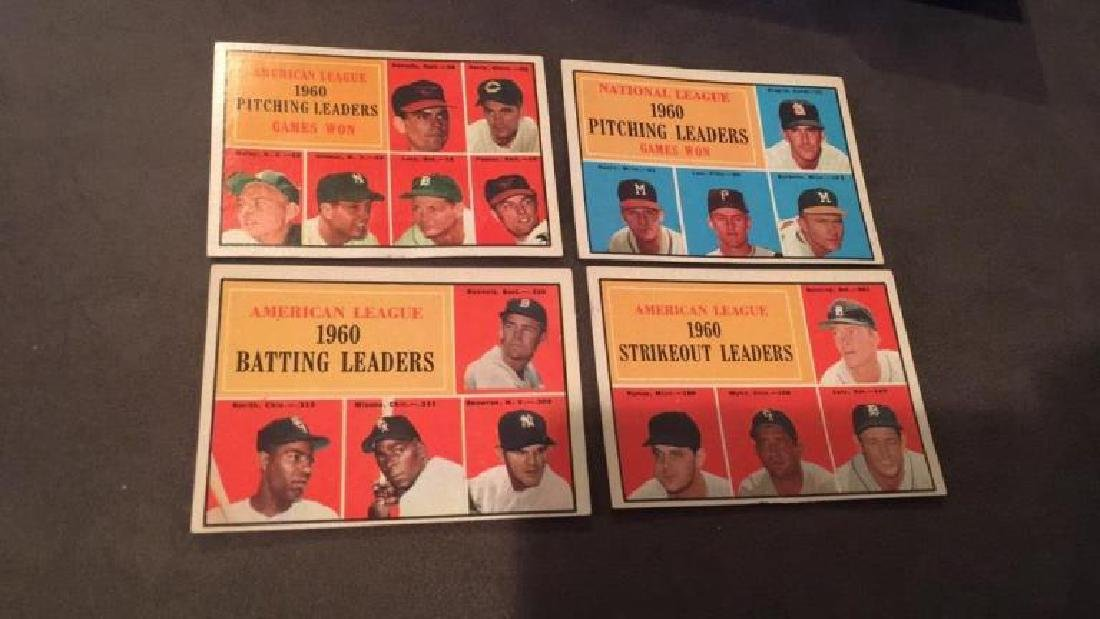 1960 pitching leaders strikeout  leaders batting