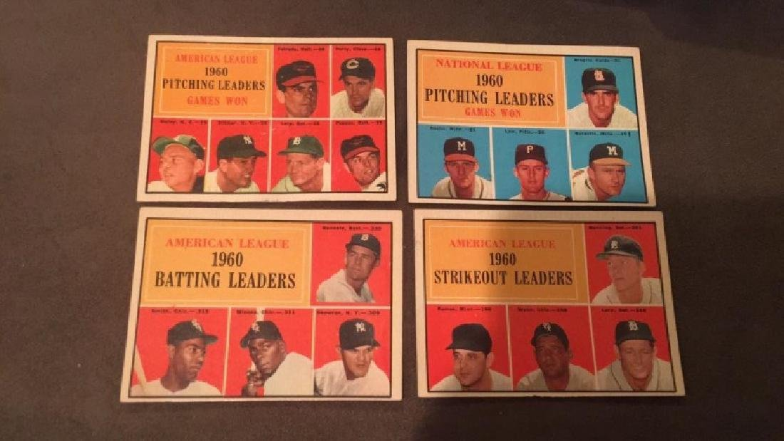 1960 pitching leaders strikeout  leaders batting - 2