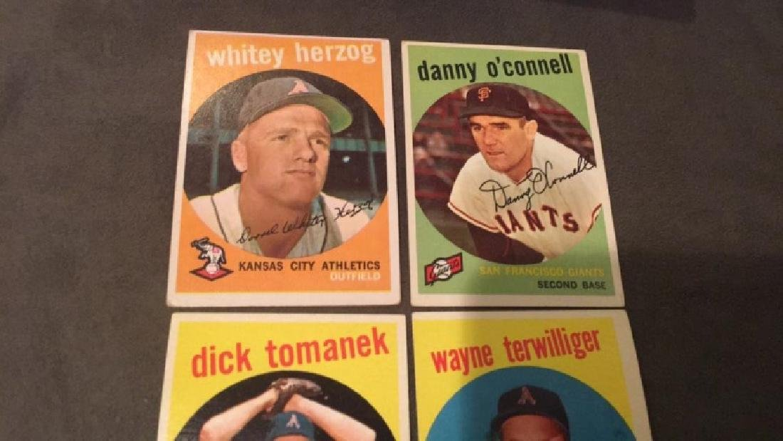 1959 tops vintage baseball card lot why do you - 2