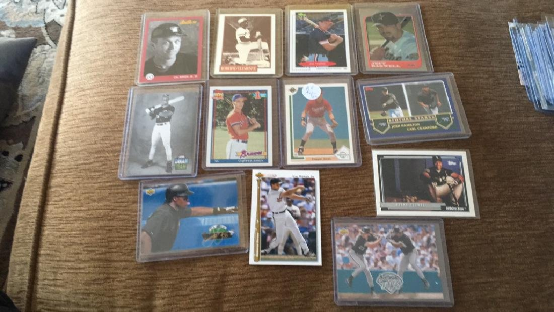 12 card baseball rookie store Hall of Fame lot to