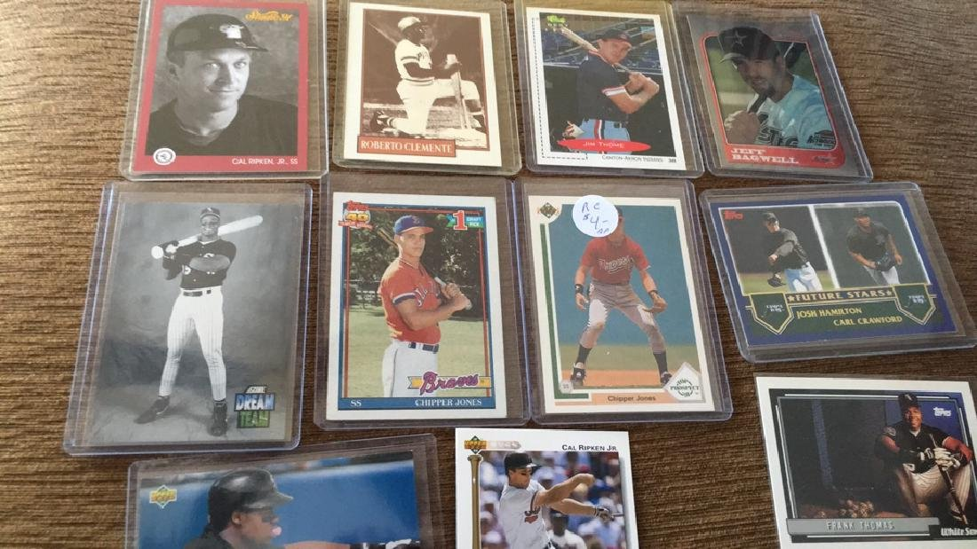 12 card baseball rookie store Hall of Fame lot to - 3