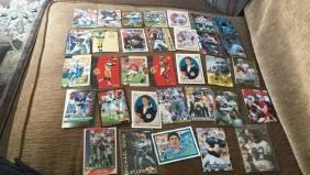 Large football superstore lot with rookies