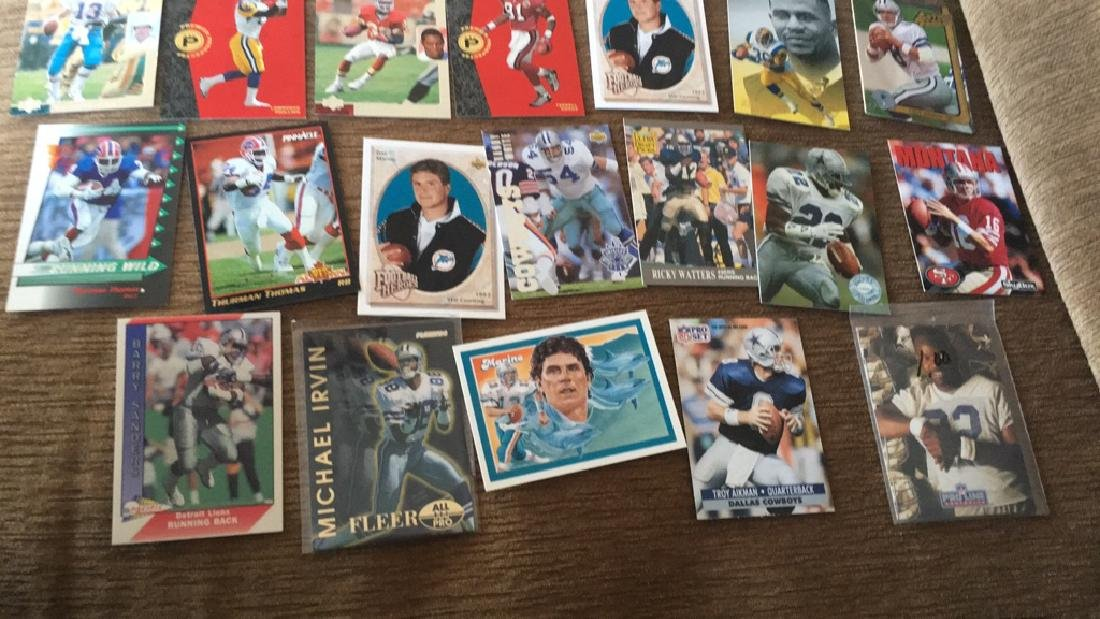 Large football superstore lot with rookies - 2
