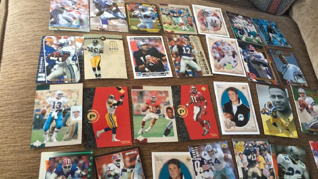 Large football superstore lot with rookies - 3