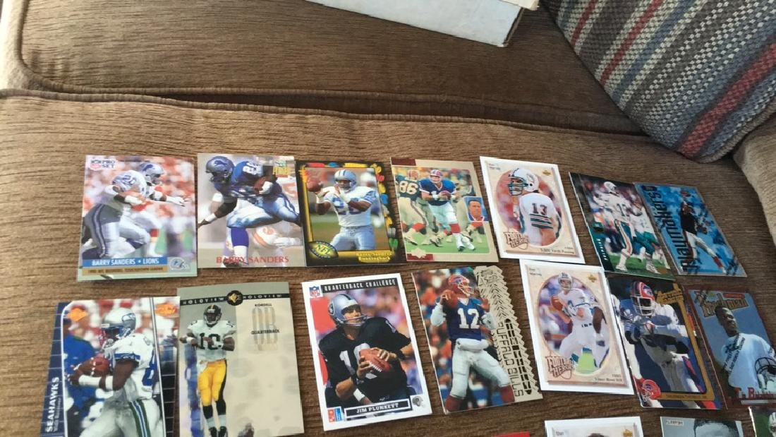 Large football superstore lot with rookies - 5