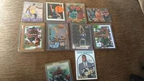 Basketball superstar rookie lot Magic Johnson