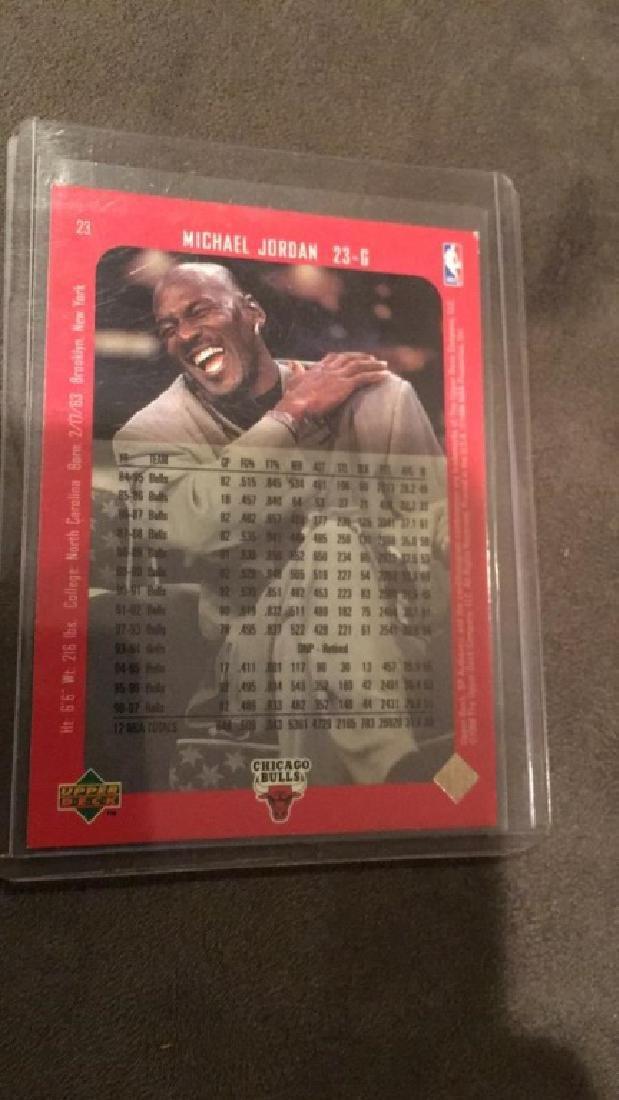 Michael Jordan 1998 Sp Authentic #23 - 2