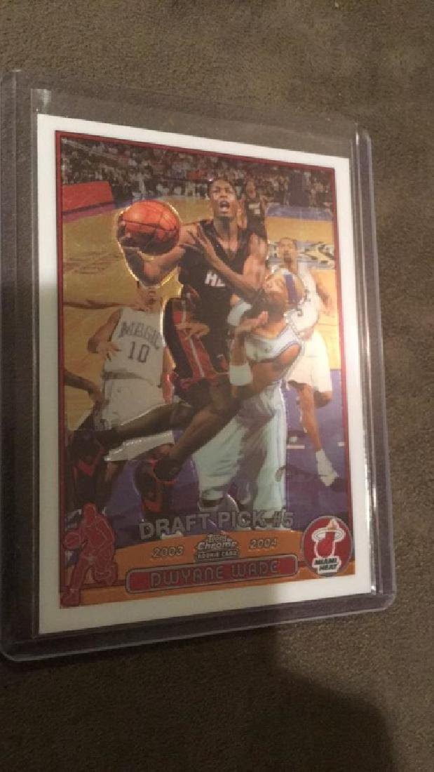 Dwayne Wade 2003-04 Topps chrome rookie
