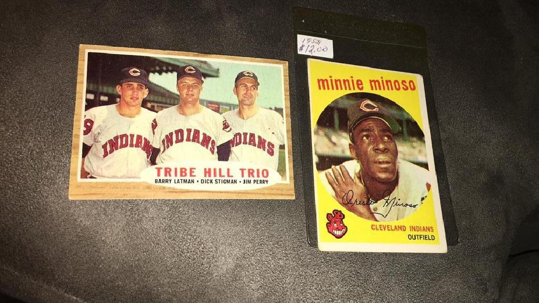 Minnie Minoso 1958 topps vintage baseball card