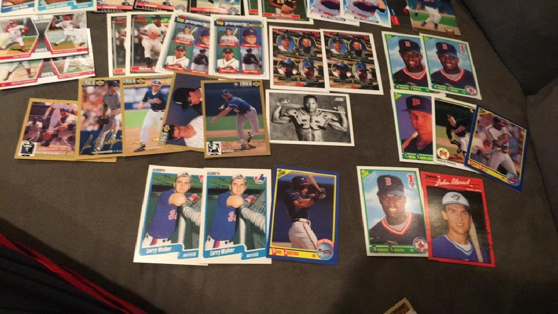 Huge baseball card rookie insert lot Dave justice - 2