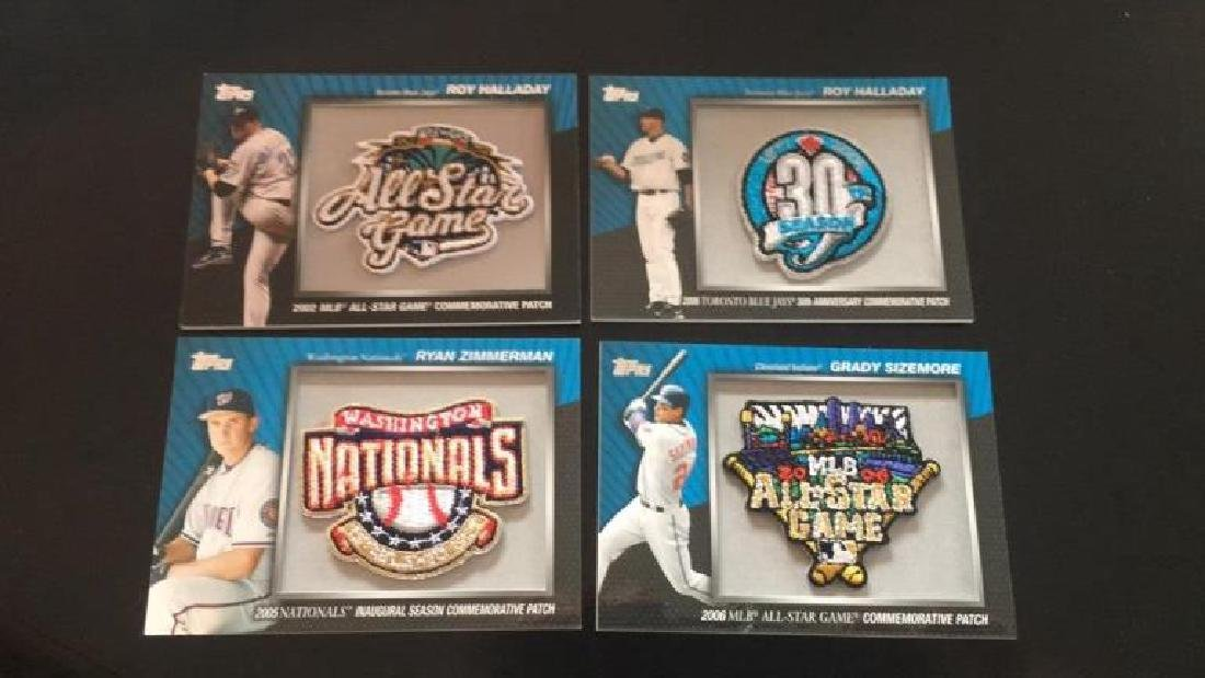 2010 tops All-Star game commemorative patch lot