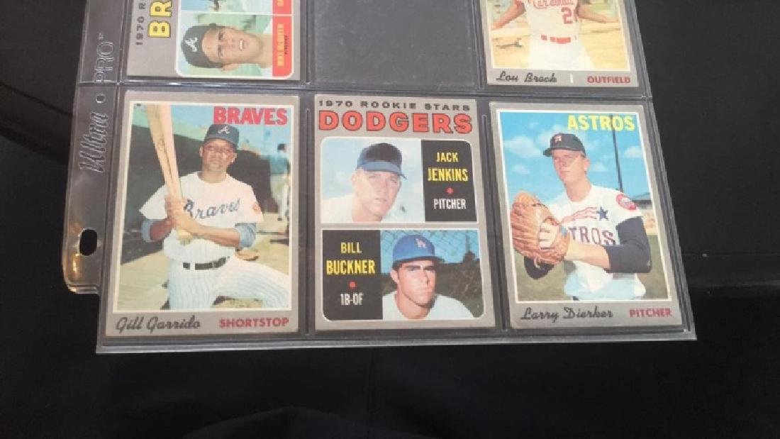 Vintage 1960s and 1970s baseball cards what Bill - 4