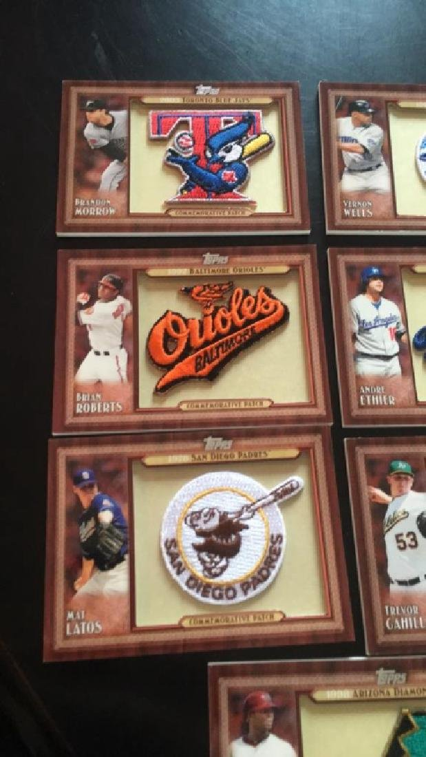 2011 Topps commemorative patch lot of seven Andre - 2