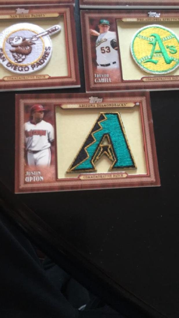 2011 Topps commemorative patch lot of seven Andre - 4