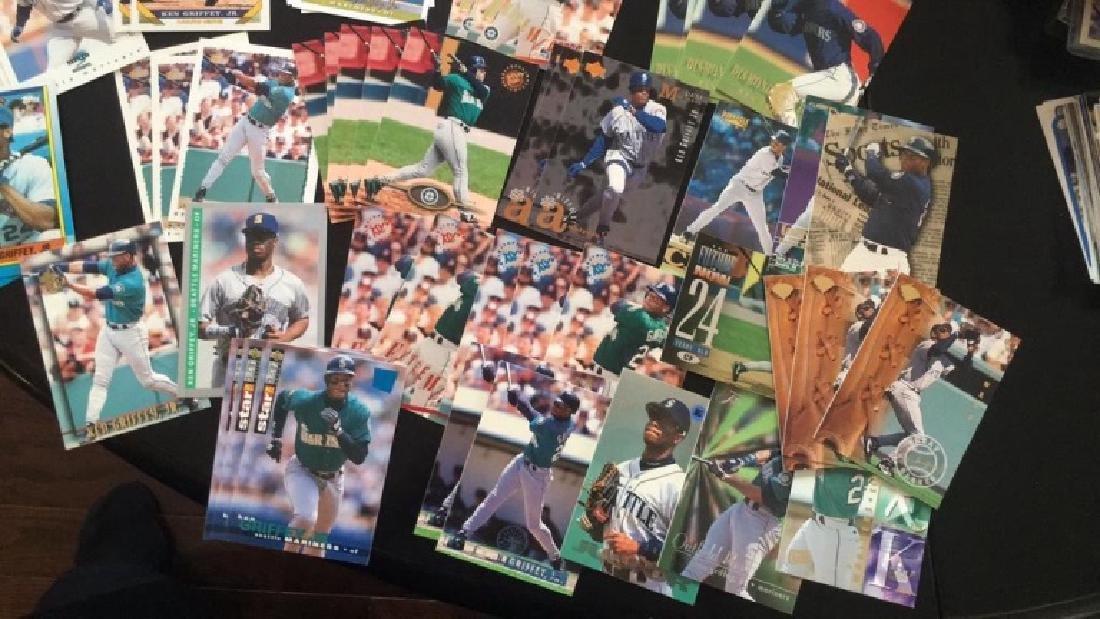 Lot of over 150 ken Griffey Jr baseball cards - 2