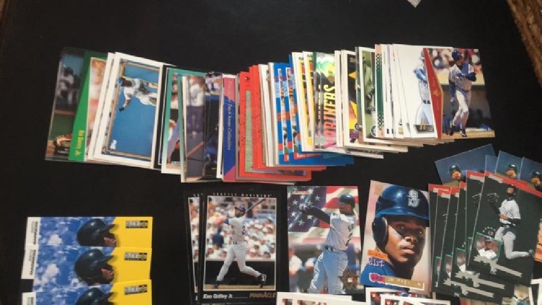 Lot of over 150 ken Griffey Jr baseball cards - 4