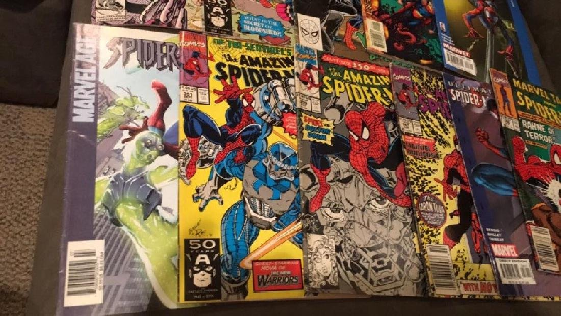 Spiderman 11 comic books nice lot all different - 2