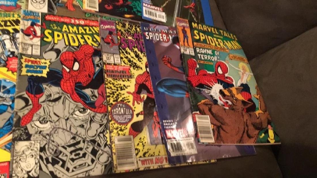 Spiderman 11 comic books nice lot all different - 3