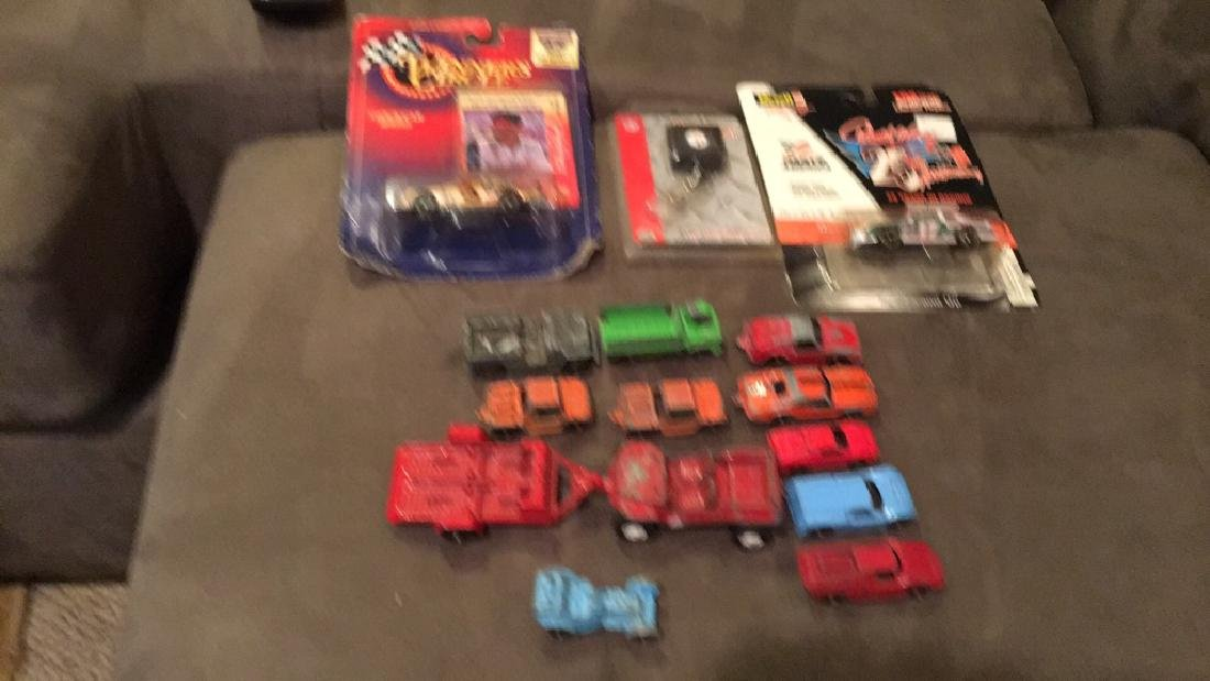 Vintage Tootsie toy diecast car lot deal Earnhardt