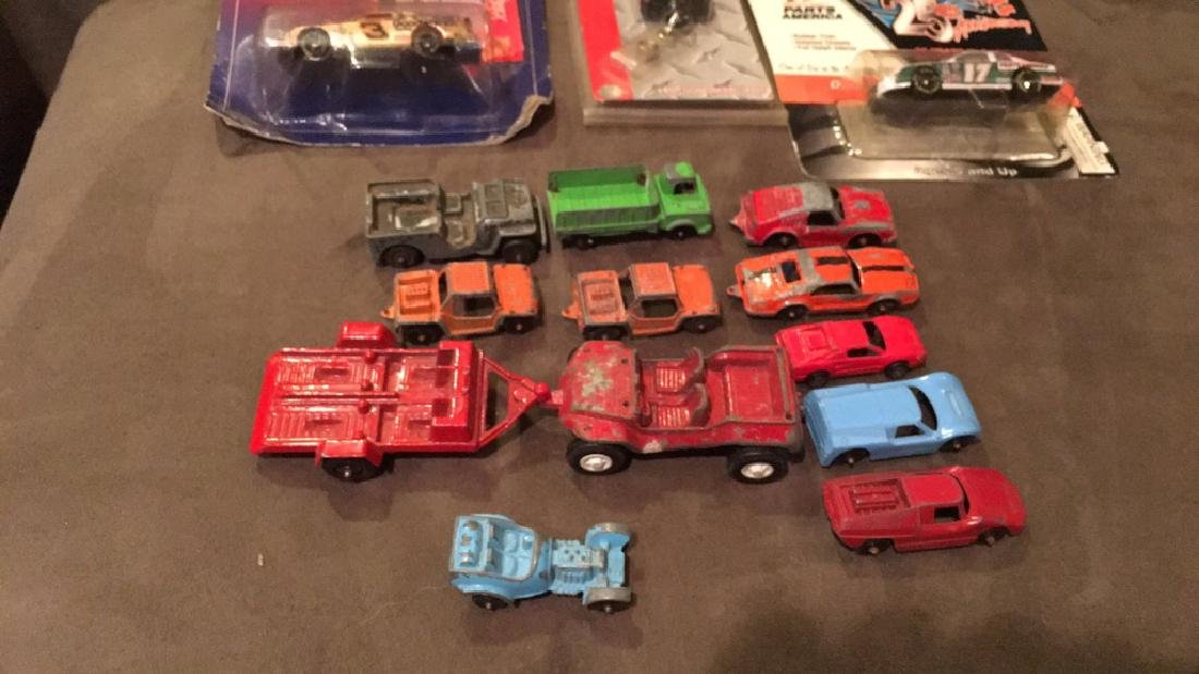 Vintage Tootsie toy diecast car lot deal Earnhardt - 2