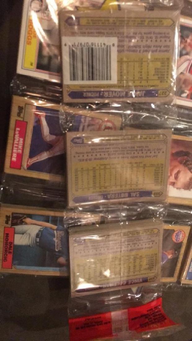 5 1987 tops rack packs with Nolan Ryan Wade Boggs - 3