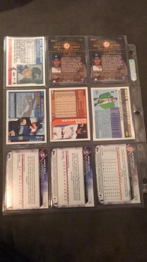 Nine Cardinal baseball lot Alex Rodriguez to Andy - 2
