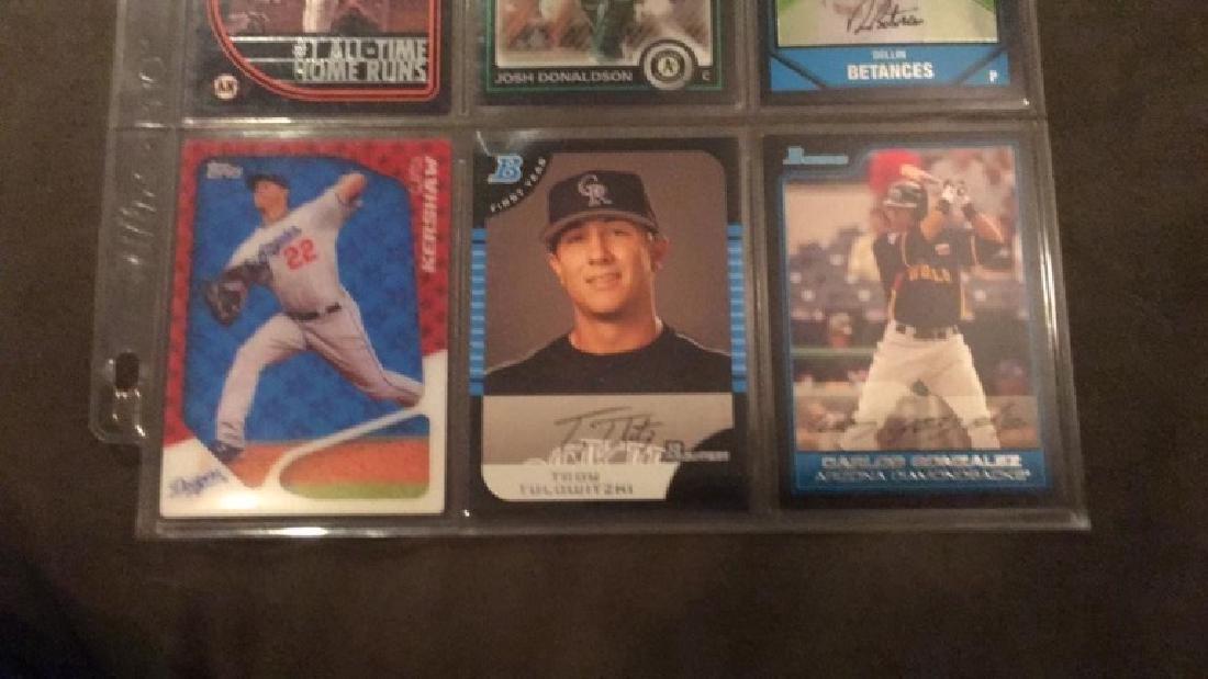 Nine Card baseball lot Josh Donaldson 2 rookie - 2