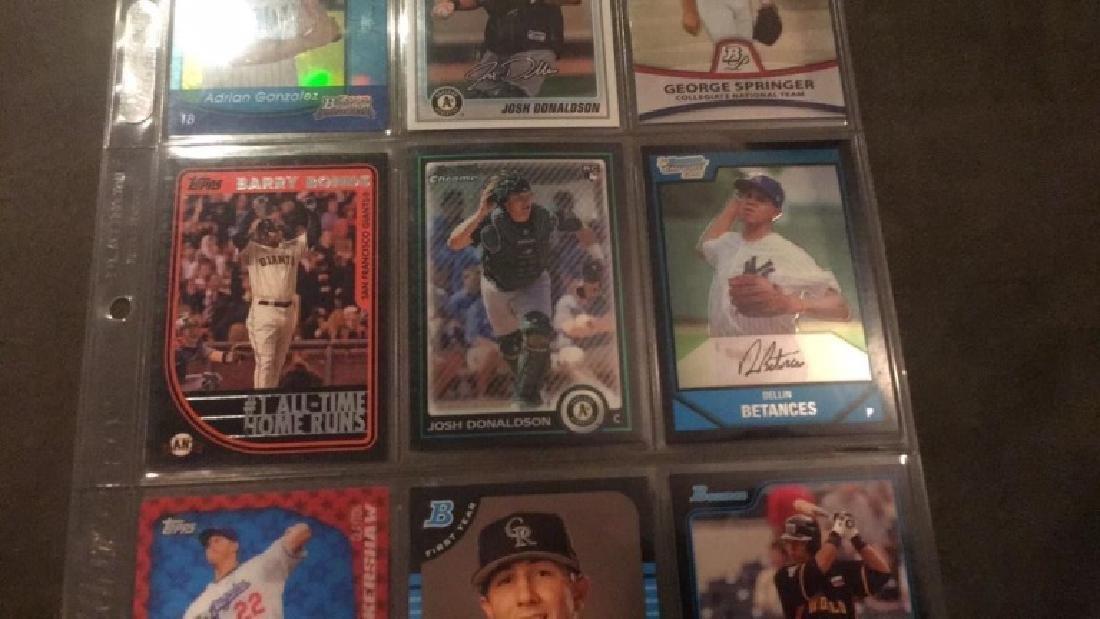 Nine Card baseball lot Josh Donaldson 2 rookie - 3