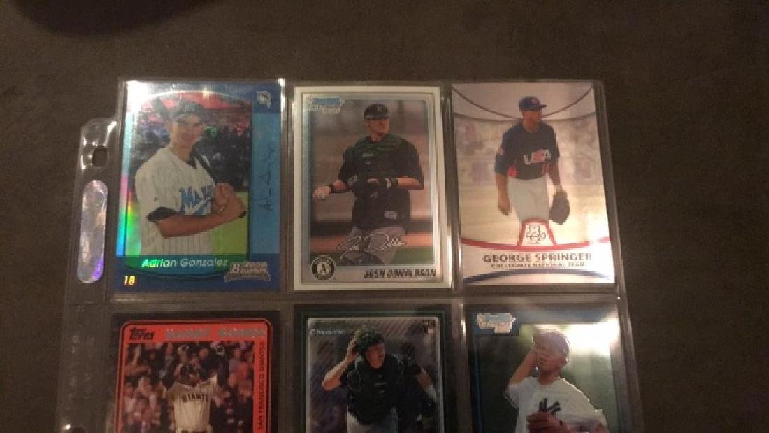 Nine Card baseball lot Josh Donaldson 2 rookie - 4