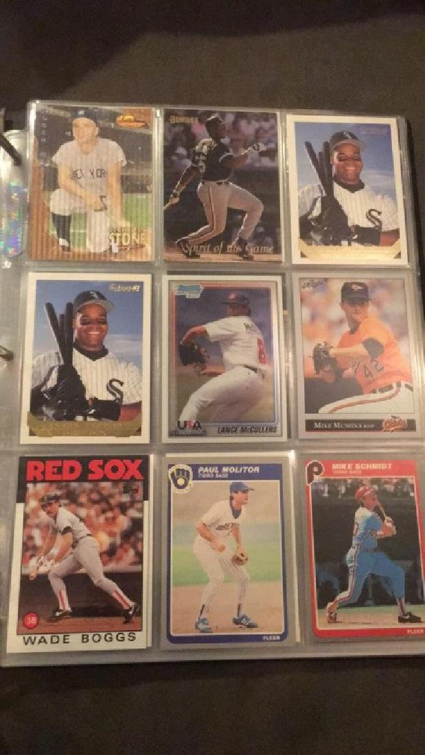 Baseball card album filled with stars and Rockies - 5