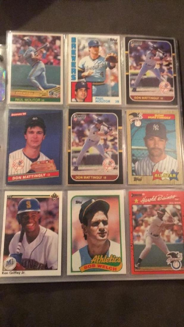 Baseball card album filled with stars and Rockies - 6