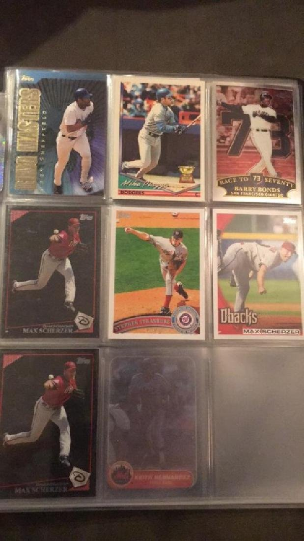 Baseball card album filled with stars and Rockies - 8
