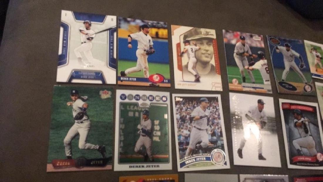 Derek Jeter 17 card lot with premium cards really - 3