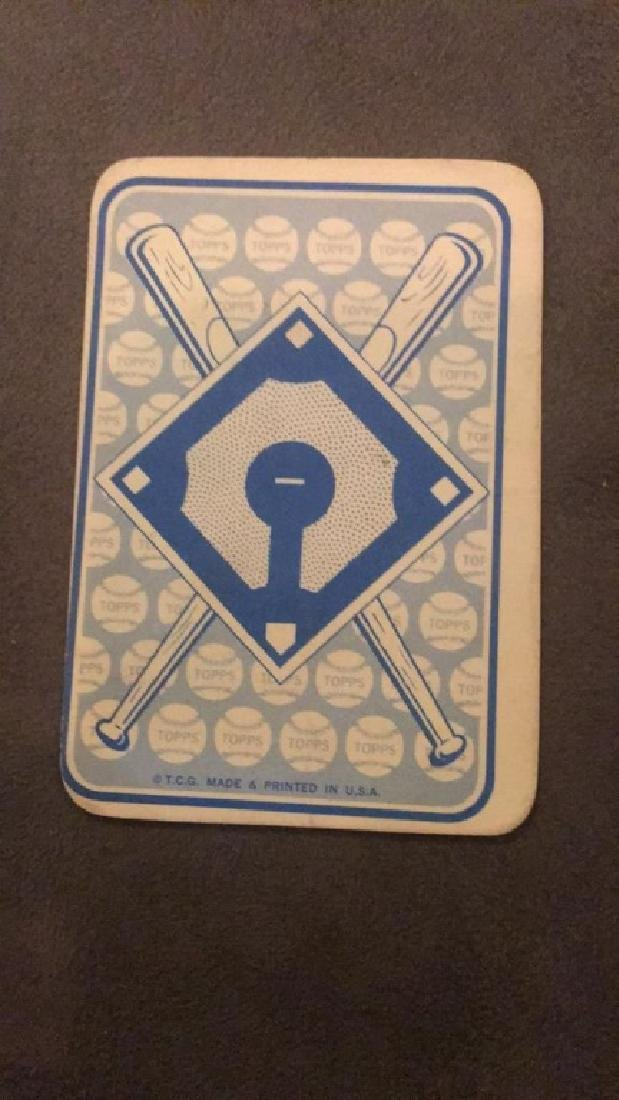 Willie Mays topps game vintage card - 2