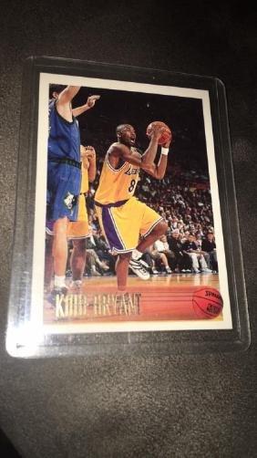 Kobe Bryant 1996 97 topps rookie card