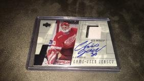 Chris Osgood 2001 upper deck game used jersey