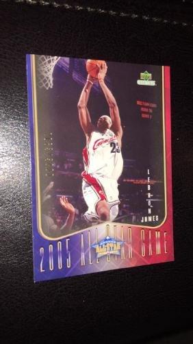 2005 LeBron James upperdeck collectibles/3000