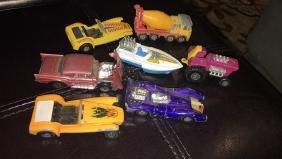 Lesney Matchbox lot of seven cars nice vintage
