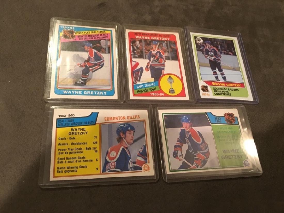 Wayne Gretzky 1980's OPC Card Lot Nice Lot