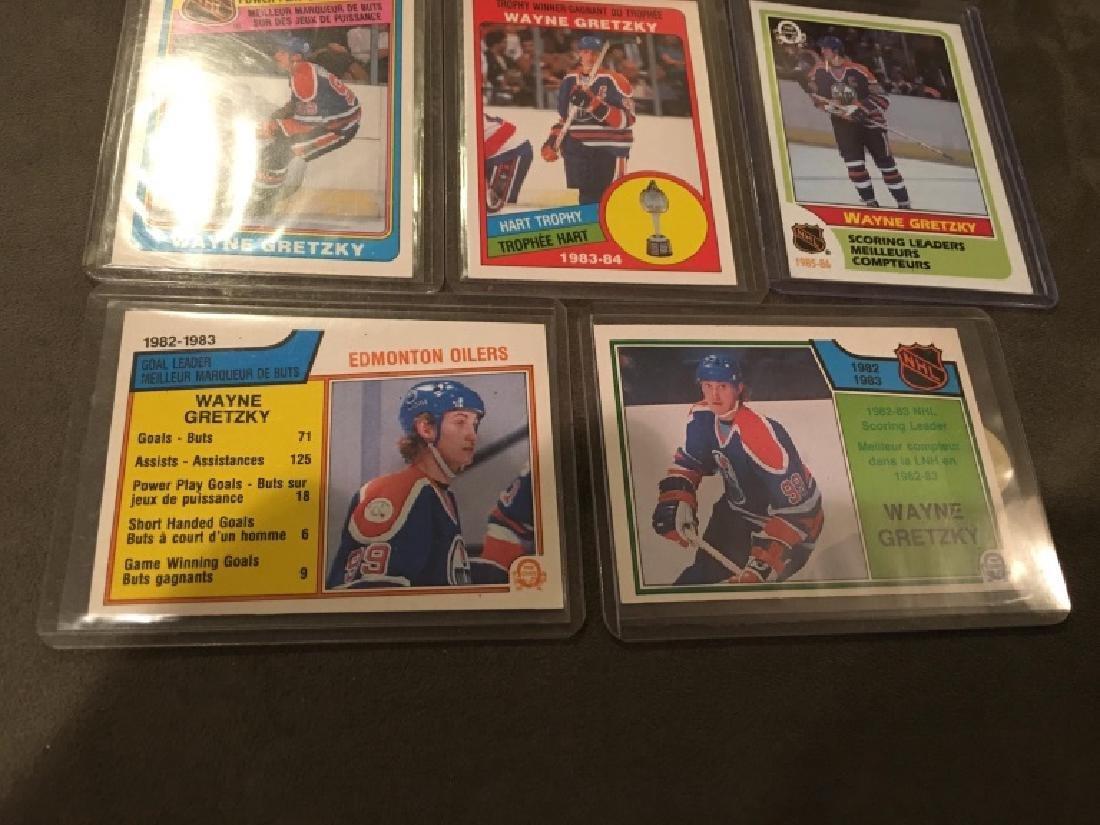 Wayne Gretzky 1980's OPC Card Lot Nice Lot - 2
